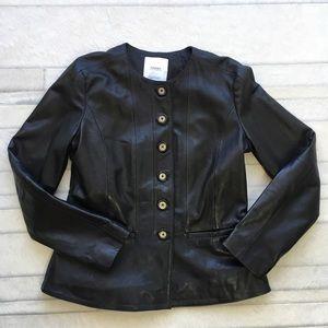 Mango Jackets & Coats - Mango leather jacket